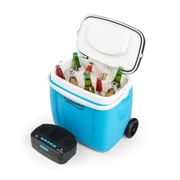 Picknicker Trolley Music Cooler 36l Nevera portátil-carrito Altavoz con Bluetooth azul