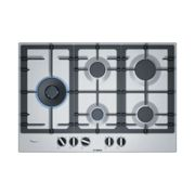 Bosch PCS7A5B90 Placa de gas 75 cm - acero inoxidable