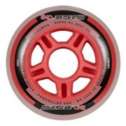 Powerslide One 8 Unidades 80 mm Milky / Red