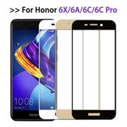 Protective Glass On For Huawei Honor 6c pro case Full Cover Screen Protector For Honor 6x 6a Tempered Glass Film honor6 6 a c x