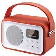 Radio retro Sunstech RPRBT450OR naranja