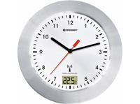 Reloj de Pared BRESSER OPTICS MYTIME BATH RC Blanco