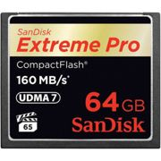 Sandisk Compact Flash Extreme Pro Cf 160mbs 64 Gb