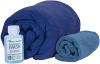 Sea to Summit Tek Towel Kit de Baño L, cobalt/pacific 2021 Toallas