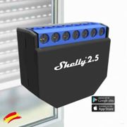 shelly 2.5 Domótica persianas Wi-Fi.