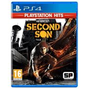 Sony Hits Infamous Second Son Ps4 PAL Black