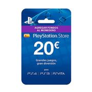 Sony Ps Store 20€ Voucher One Size