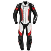Spidi Laser Pro Perforated Red 1 Piece Motorcycle Racing