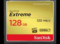 SANDISK COMPACT FLASH Extreme CF 128GB