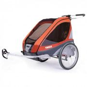 Thule chariot corsaire1+cycle, apricot 2 - thule