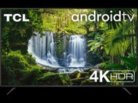 """TV LED 43"""" -TCL 43P618, UHD 4K, AndroidTV, Micro Dimming, Smart HDR, Dolby Audio, HDR10, Asistentes de voz"""