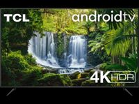 """TV LED 50"""" - TCL 50P618, 4K UHD, Android TV, Micro Dimming, Smart HDR, DolbyAudio, HDR10, Sin marcos, Negro"""