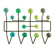 Vitra - Hang it all - Guardarropa - verde/wood laquered/frame metal/armazón verde