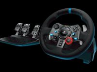 Logitech 941-000112 G G29 Steering wheel + Pedals Playstation 3,PlayStation 4 Analogue D-pad,Select,Share Wired USB 2.0