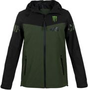 VR46 Racing Apparel Monster Dual Camp, Cazadora M male Negro/Verde Oscuro