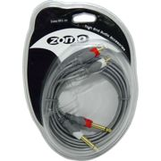 Zomo Cable MKC-30 - 2x 6,3 mm jack - RCA - 3m